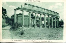 N°76793 -cpa Remoulins -château D'Argilliers- La Colonnade - - Remoulins