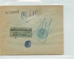 Lettre Recommandée De MADAGASCAR  - Voyagée De Madagascar à St Etienne En 1930 - Madagascar (1889-1960)