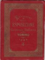 RICORDO DELLA ESPOSIZIONE GENERALE ITALIANA - TORINO 1884. PHOTOSET WITH 24 PHOTOS, ALBUM ITALIA -LILHU - Italie