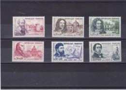 FRANCE 1960 Célébrités Yvert 1257-1262 NEUF** MNH Cote : 19 Euros - Frankreich
