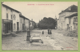 54 Deneuvre Grande Rue Env De Raon L Etape Baccarat Nancy - Francia