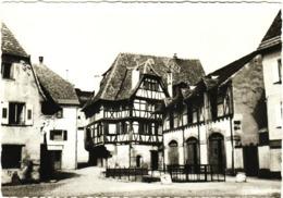 CPSM DE OBERNAI  (BAS RHIN)  VIEILLE MAISON - Obernai