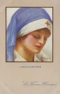 3 Cartes LES FEMMES HEROIQUES  L'ambulancière, La Russe, La Polonaise E. Dupuis 1908 - Donne