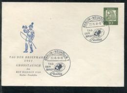 """Berlin / 1961 / Privatganzsachenumschlag """"Tag Der Briefmarke"""" SSt. (1720) - Berlin (West)"""