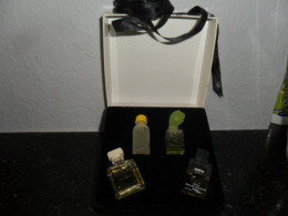 ANCIEN COFFRET 4  MINIATURES  BALMAIN  / PLEINES - Modern Miniaturen (vanaf 1961)