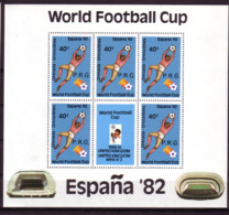 Soccer World Cup 1982 - GRENADINES - 2 Sheets Ovp MNH - World Cup