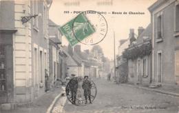 POULAINES - Route De CHAMBON - France