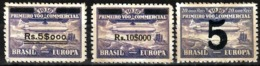 610 - BRASIL - 1931 - ZEPPELIN ISSUE - NEW VALUES - FORGERIES, FALSES, FALSCHEN, FAKES, FALSOS - Collections (sans Albums)