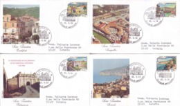 Italia 1993 - FDC Turistica - FDC