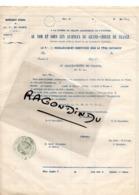 27 - GISORS - FRANC-MACONNERIE - CACHET LOGE FRERES DE BLANMONT Doc Adm Pour Recueillir Rens Des Adhérents - Unclassified