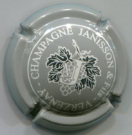 CAPSULE-CHAMPAGNE JANISSON & Fils N°08 Gris & Argent - Champagne