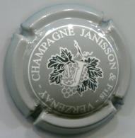 CAPSULE-CHAMPAGNE JANISSON & Fils N°08 Gris & Argent - Autres