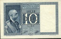 1935-Lire 10 Imperiale Vittorio Emanuele III D.L. 20.05.1935 Qualita' FDS - [ 1] …-1946 : Kingdom