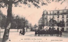 NANTES - La Place Canclaux , Animée - Nantes
