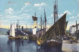 Rijeka (Fiume) * Segelboot, Schiffe, Hafen, Porto Báros * Kroatien * AK2039 - Kroatië