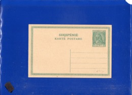 ##(DAN1911/1)-Albania-5 Qint. Postal Card Unused, Very Good Conditions - Albania