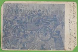 Monarquia - República Portuguesa - Rei D. Carlos - Rainha D. Amélia - King - Illustrator - Lisboa - Portugal (mau Estado - Familles Royales