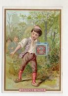 Y14444/ Biscuits Lefevre Altes Kaufmannsbild Kinder Kekse Litho  - Alte Papiere
