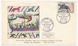 Enveloppe FDC - Tapisserie De La Reine Mathilde - Bayeux - 21 Juin 1958 - FDC