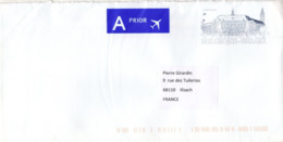 BELGIQUE BELGIE Lettre PAP Avec Entier Postal Neuf Charleroi Label PRIOR Air Mail - Covers