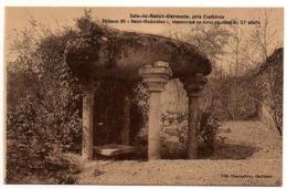 """17 - Charente / ISLE De SAINT GERMAIN , Près Confolens -- Dolmen Dit """" Saint Madeleine """" ... ( Mégalithes). - France"""
