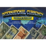 INTERNATIONAL CURRENCY: NICE LITTLE COLLECTION OF 15 UNC BANKNOTES FROM AROUND THE WORLD In An Illustrated Special Album - Bankbiljetten
