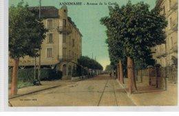 CPA Annemasse (74) Avene De La Gare - Annemasse