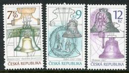 CZECH REPUBLIC 2005 Bells MNH / **. Michel 443-45 - Tchéquie