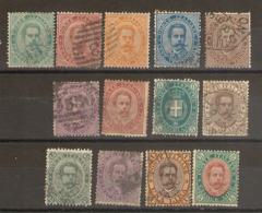 Italie -  1879_ Armoireries Série  N°33/39 - 1861-78 Vittorio Emanuele II