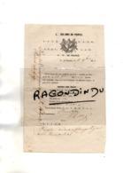 95 - PONTOISE - FRANC-MACONNERIE - Lettre De1857 Adess à GISORS De La LOGE MACONNIQUE De PONTOISE - RARE - Postmark Collection (Covers)
