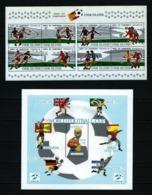 Fútbol (España-82) 2 Hojas Nuevas Cat.17,50€ - 1982 – Espagne