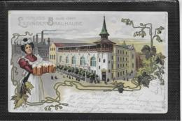 AK 0366  Wien - Gruss Aus Dem Liesinger Brauhause / Lithographie Um 1900 - Vienne
