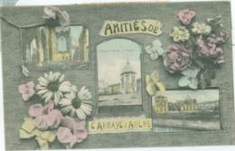 Amitiés De L'Abbay D'Aulne 1913 - Voyagé. (Victor Seutin - Gozée) Voir Scan 2! - Thuin
