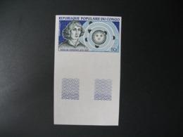 Timbre ND Non Dentelé Neuf ** MNH - Imperf  Célébrités Nicolas Copernic Congo    N° PA 159 - Celebrità