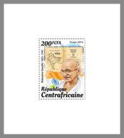 CENTRALAFRICA 2019 MNH Mahama Gandhi 1v - OFFICIAL ISSUE - DH1947 - Mahatma Gandhi