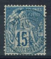 Réunion, General Issues (Alphée Dubois), 1881, Nice Postmark From St Gilles, Reunion, VFU SCARCE - Alphee Dubois