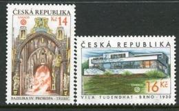 CZECH REPUBLIC 2005 World Heritage Sites MNH / **. Michel 428-29 - Tchéquie