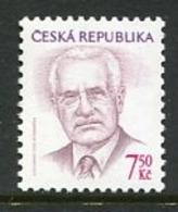 CZECH REPUBLIC 2005 Definitive: President 7.50 Kc. MNH / **. Michel 425 - República Checa