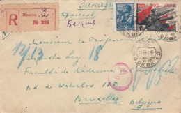Russie  Enveloppe De 1915  Vers La Belgique - 1857-1916 Keizerrijk