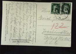 DR Bis 32: Ansichtskarte Mit 8 Pf Beethoven Nach Der CSR Ansicht: Garmisch Und Patenkirchen Knr: 389 (2) - Briefe U. Dokumente