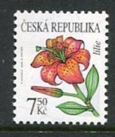CZECH REPUBLIC 2005 Flower Definitive 7.50 Kc MNH / **. Michel 422 - Czech Republic