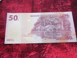 BANQUE CENTRALE DU CONGO  50 F - CINQUANTE FRANCS - 31-07-2007 Billet De Banque NEUF:NOTE BANK - Congo