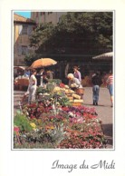 ** Lot De 5 Cartes ** MARCHE Market Markt : Midi Provence Cote D'Azur Mediterraéenne  - CPSM CPM Grand Format - - Marchés