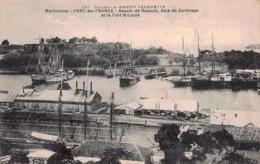 MARTINIQUE -  FORT DE FRANCE -  Bassin De Radoub , Baie De Carénage Et Le Fort Saint Louis - Fort De France