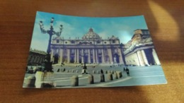 Cartolina: Roma Piazza S. Pietro Viaggiata (a43) - Postkaarten
