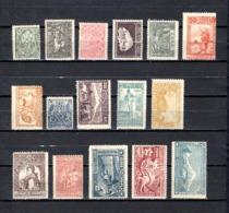 Armenia   1921-22 .-  Y&T  Nº    102/117   ( 104  Falta Punta  ) - Armenia