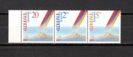 Armenia   1992 .-  Y&T  Nº    176/178    ** - Armenia