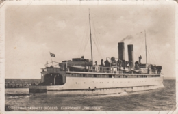 AK -  Eisenbahnfährschiff PREUSSEN - In Fahrt Auf Insel Rügen - BEFLAGGT 1940 - Dampfer