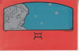 Illustrateur Henri MEUNIER - Signe Du Zodiaque - MAI - Les Gémeaux - Illustrateurs & Photographes
