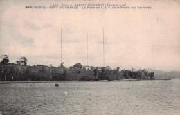 MARTINIQUE -  FORT DE FRANCE  -Le Poste ..T.S.F De La Pointe Des Carriéres - Fort De France